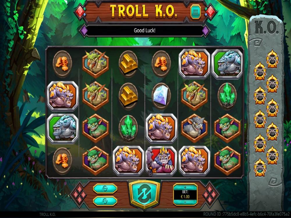 Troll K.O. Slot by Green Jade Games screenshot