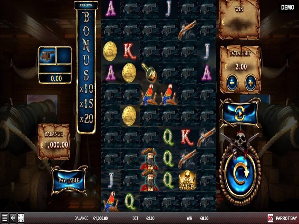 Parrot Bay Slot by Red Rake Gaming screenshot
