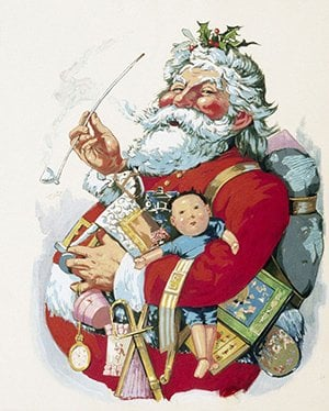 Santa Claus illustration by Thomas Nast