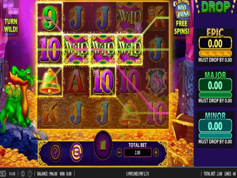Jewel Of The Dragon Slot by Bally screenshot
