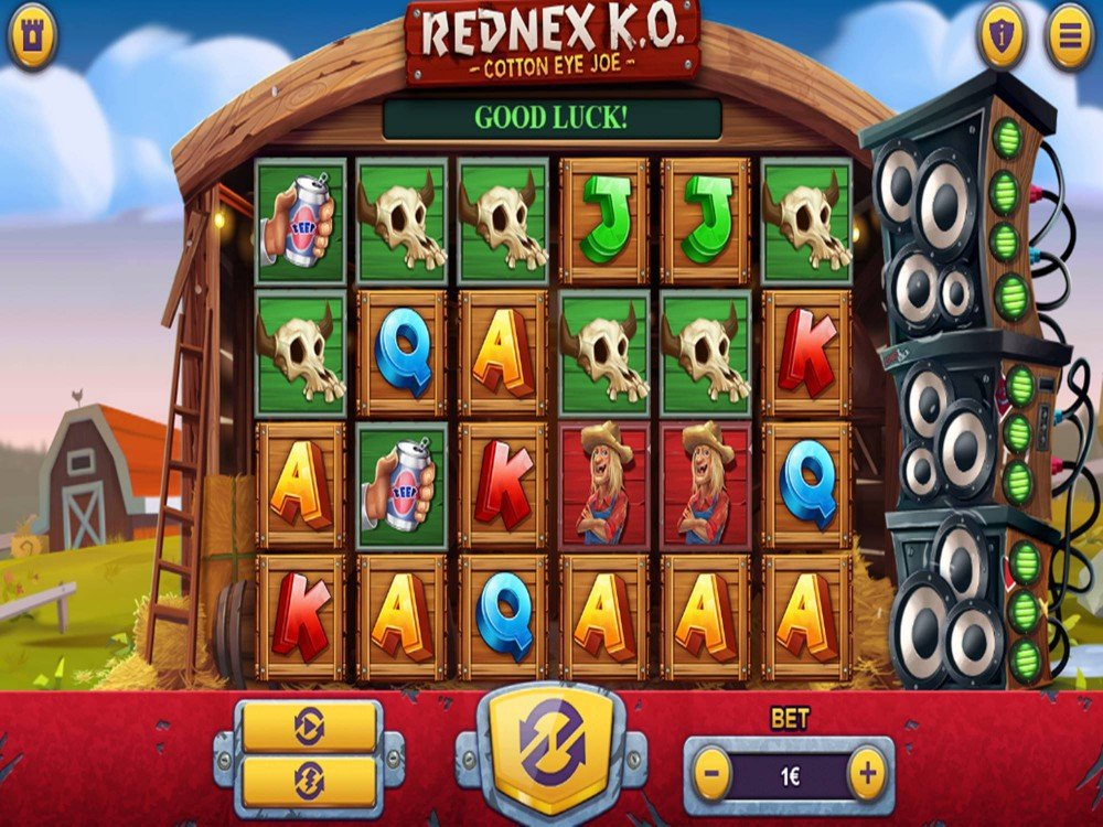 Rednex KO Slot by Green Jade Games screenshot