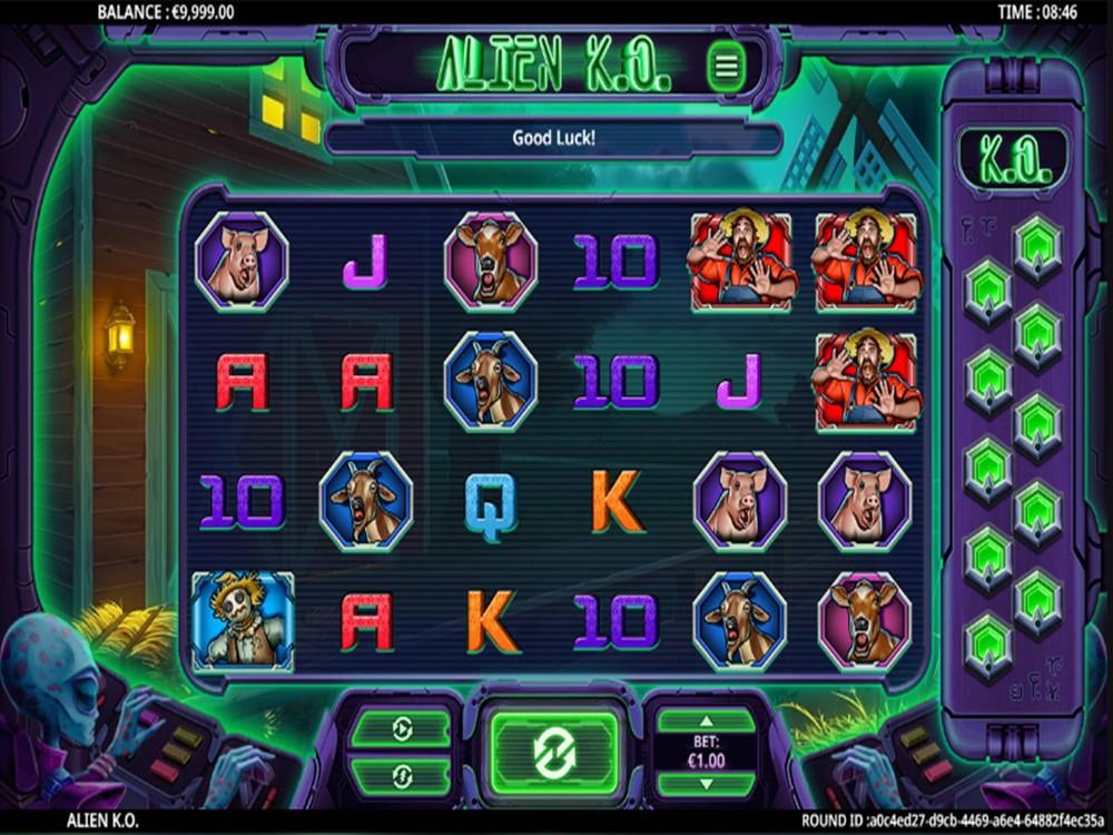 Alien KO Slot by Green Jade Games screenshot