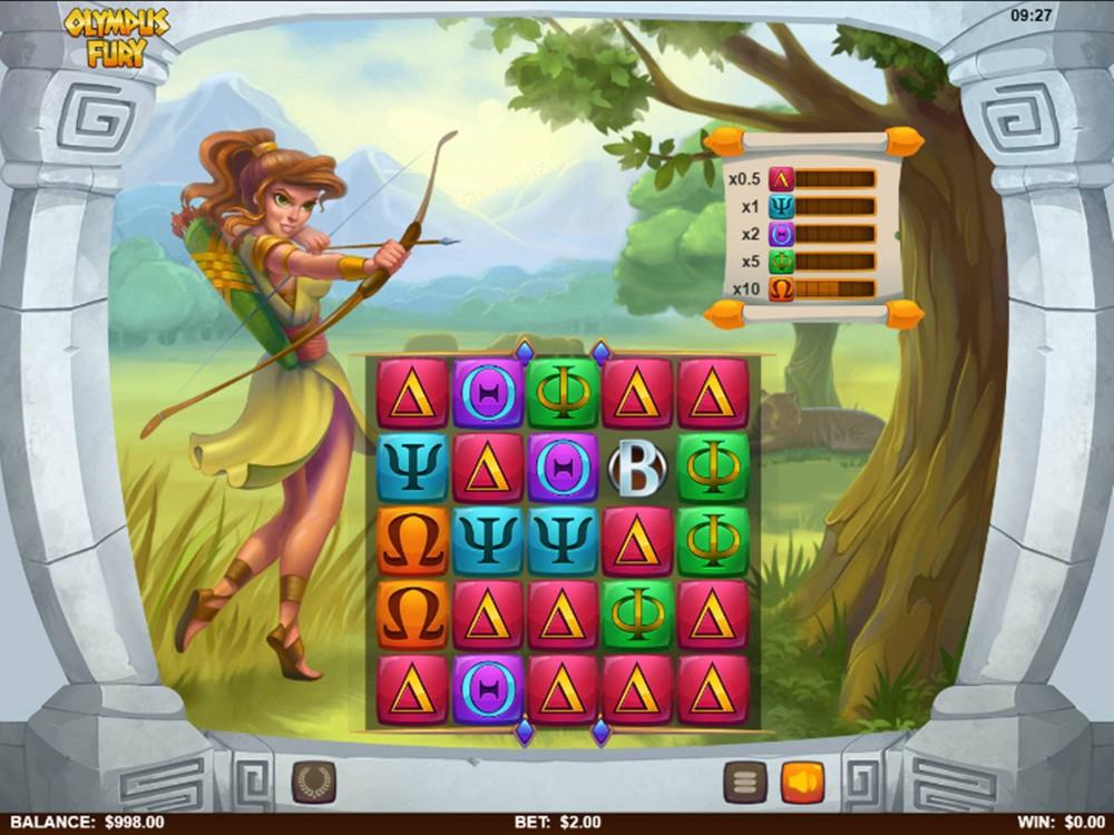 Olympus Fury Slot by Skillzzgaming screenshot