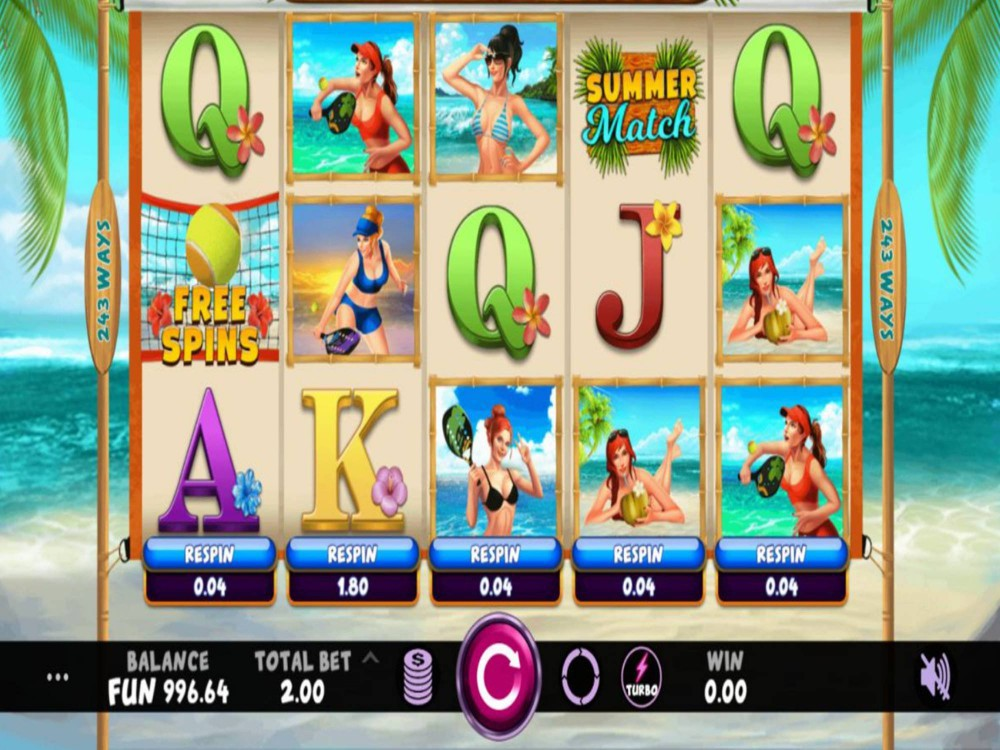 Summer Match Slot by Indi Slots screenshot