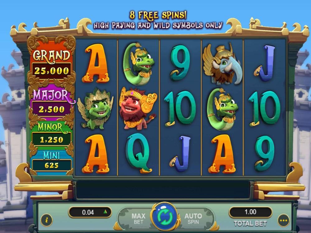 Mystical Ball Slot by Gameplay Interactive screenshot