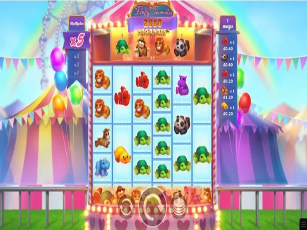 Fluffy Favourites Megaways Slot by Eyecon screenshot