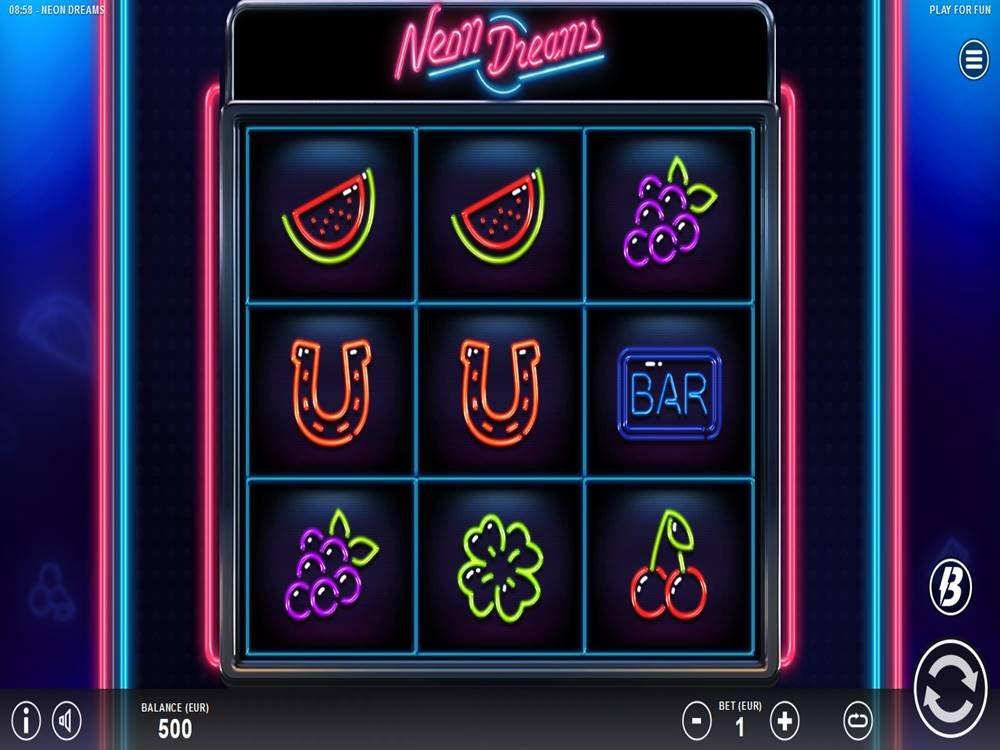 Neon Dreams Slot by Slotmill screenshot