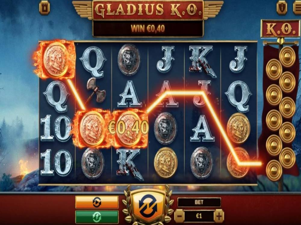 Gladius KO Slot by Green Jade Games screenshot