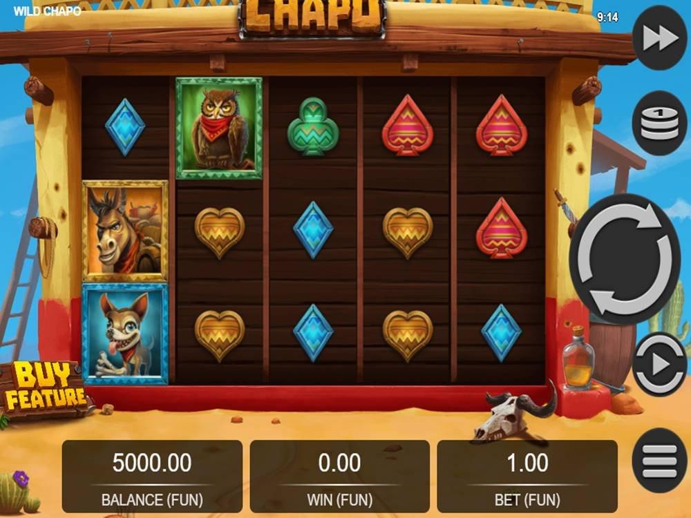 Wild Chapo Slot by Relax Gaming screenshot