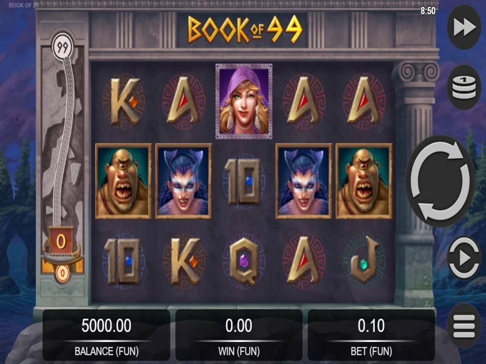 Book Of 99 Slot by Relax Gaming screenshot
