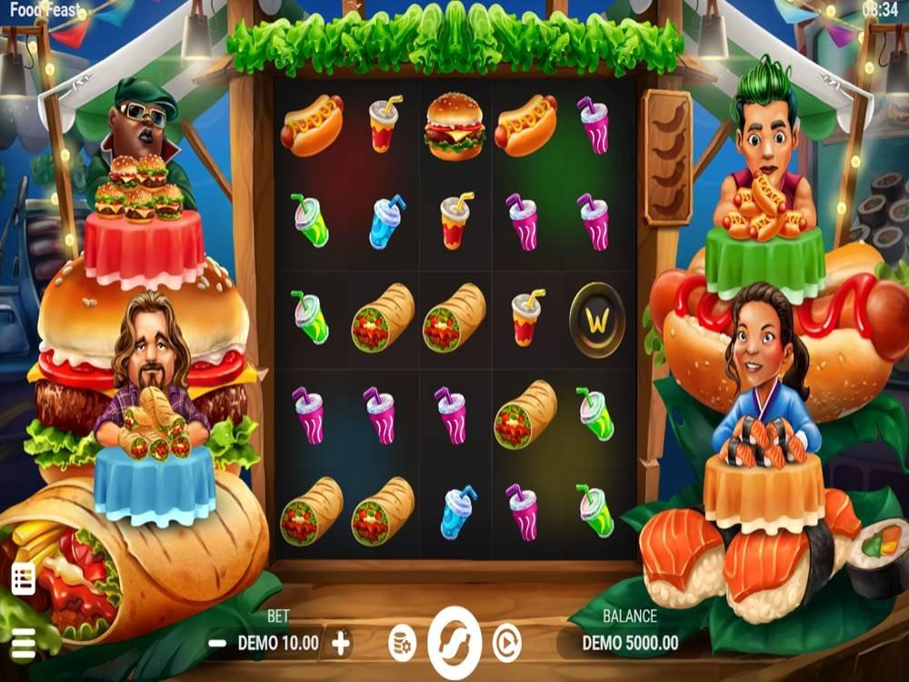 Food Feast Slot by Evoplay screenshot
