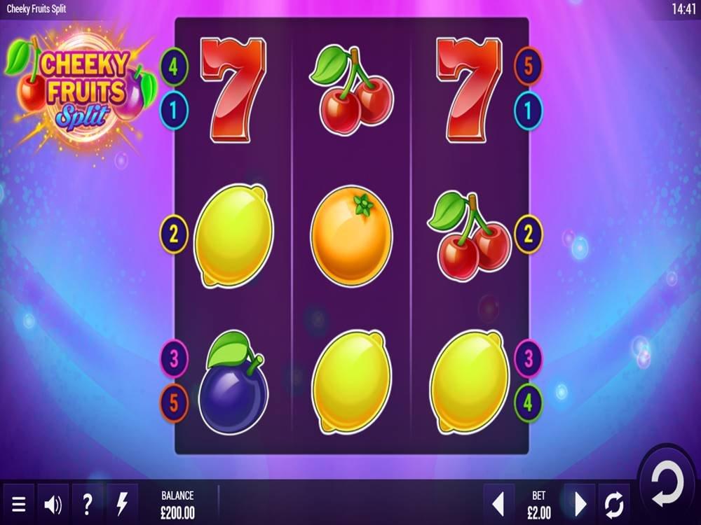 Cheeky Fruits Split Slot by Epic Industries screenshot