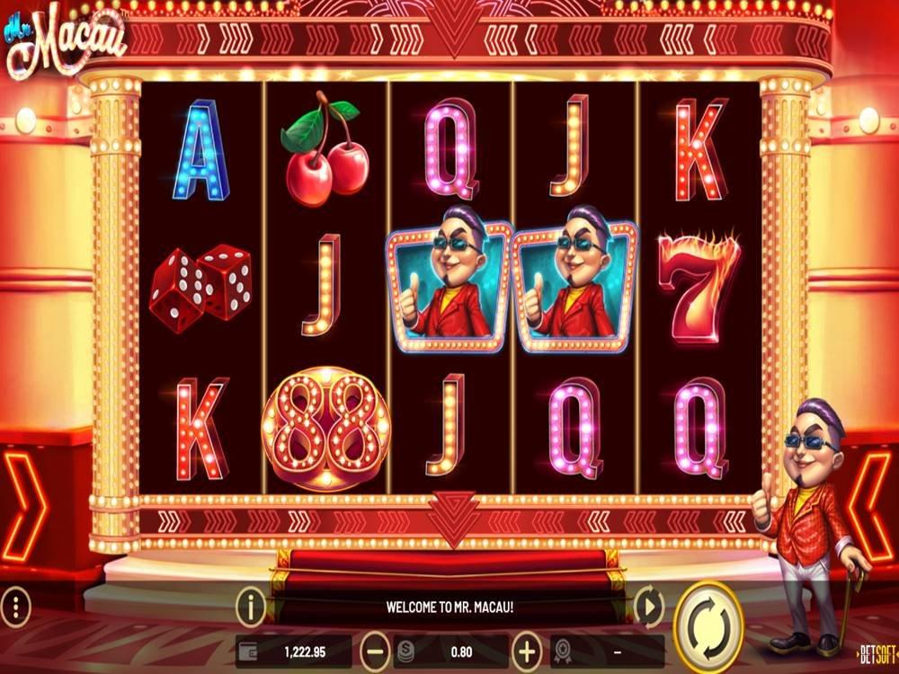 Mr. Macau Slot by Betsoft screenshot