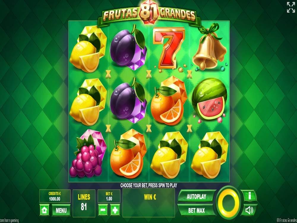 81 Frutas Grandes Slot by Tom Horn Gaming screenshot