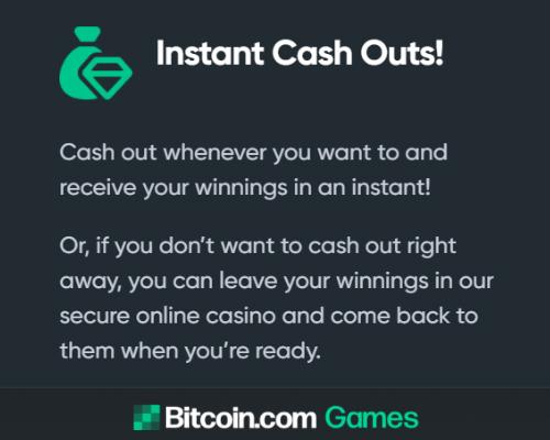 Bitcoin Casino - instant payouts