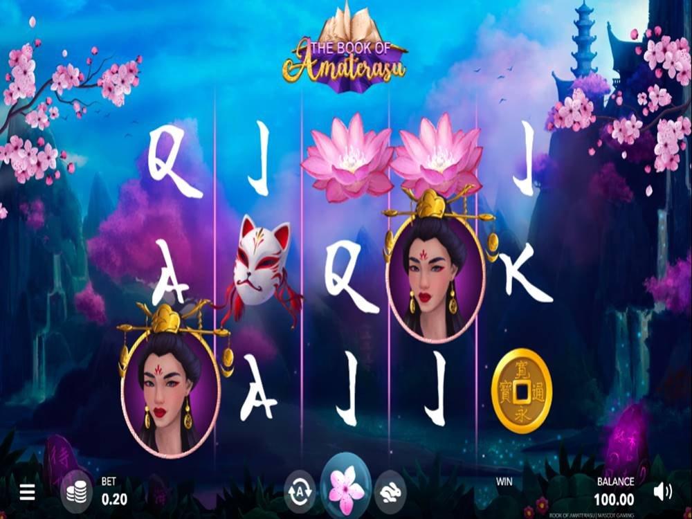 The Book Of Amaterasu Slot by Mascot Gaming screenshot
