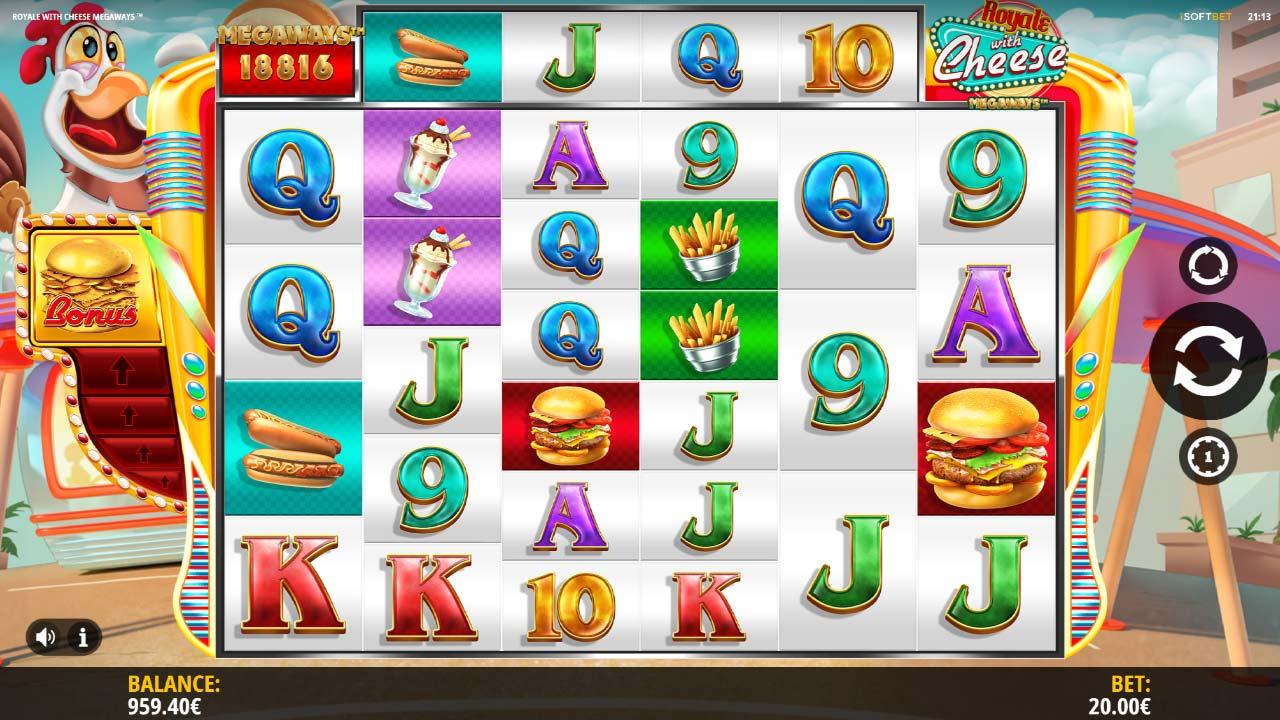Royale With Cheese Megaways by iSoftBet