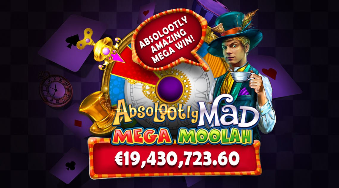 Absolootly Mad 17 million Euro Jackpot