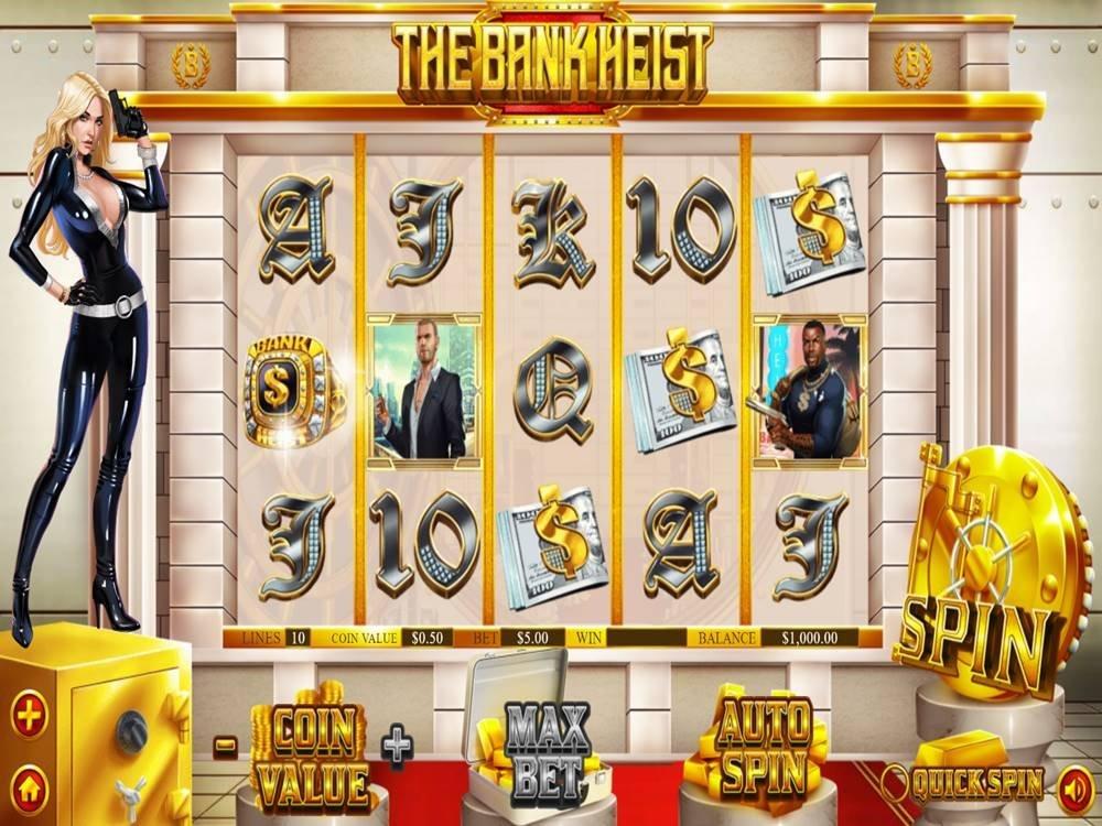 The Bank Heist Slot by Dragon Gaming screenshot