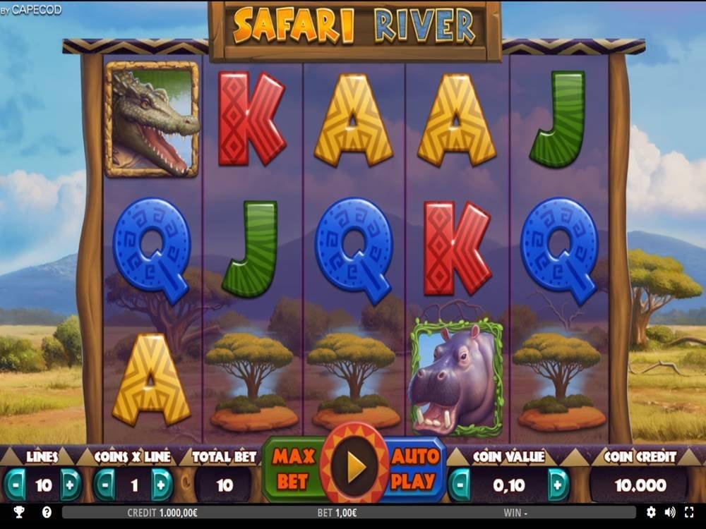 Safari River Slot by Capecod Gaming screenshot