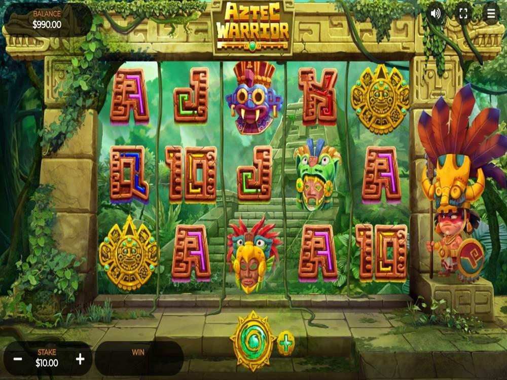 Aztec Warrior Slot by Dragon Gaming screenshot