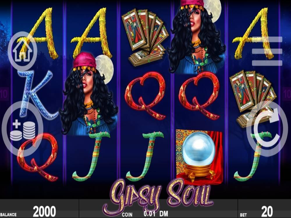 Gipsy Soul Slot by Noble Gaming screenshot