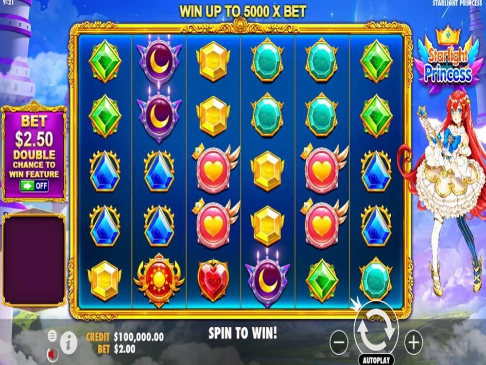 Starlight Princess Slot by Pragmatic Play screenshot
