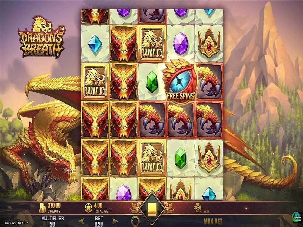 Dragon's Breath Slot by Rabcat screenshot