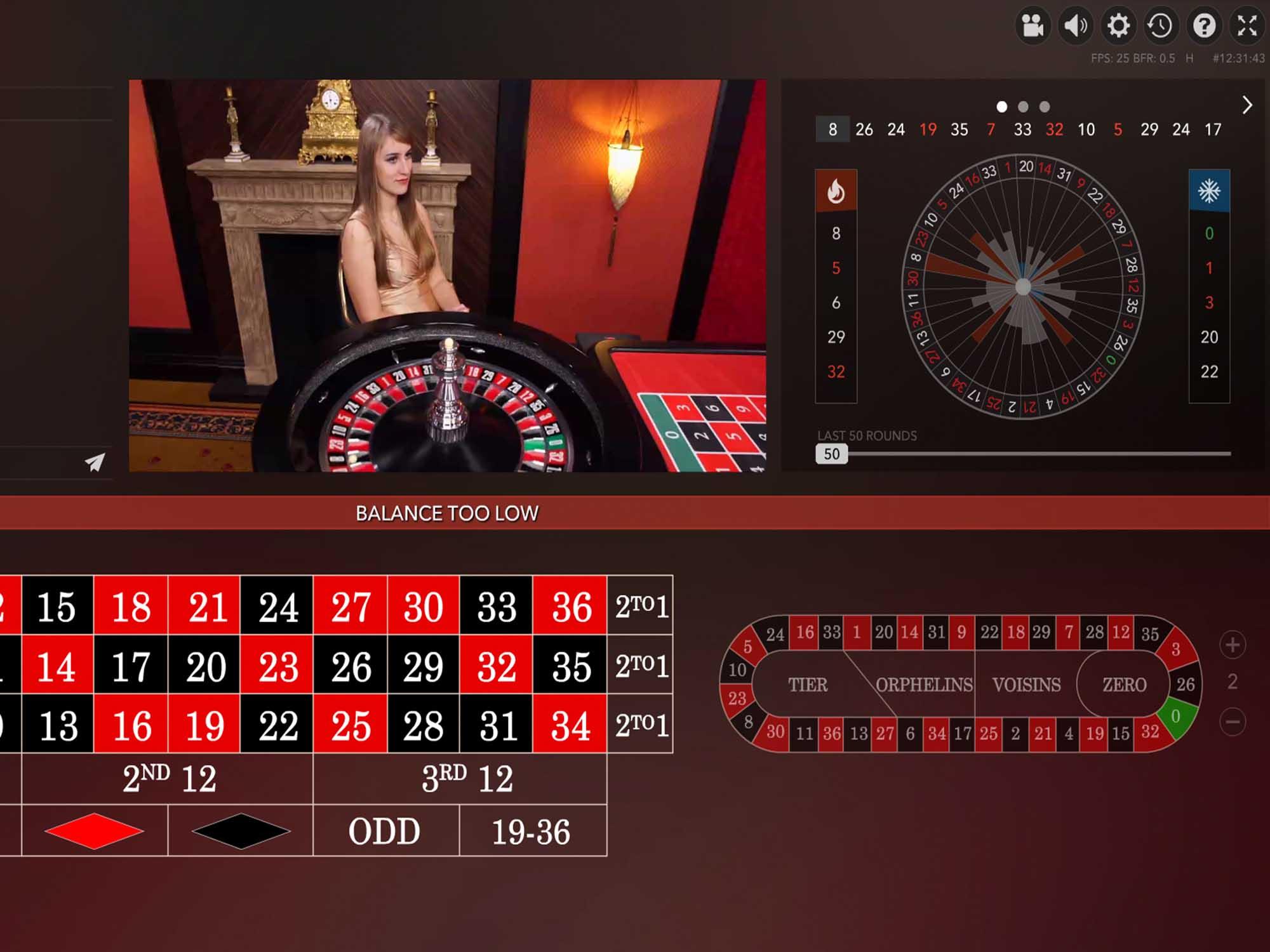 Immersive Roulette screenshot