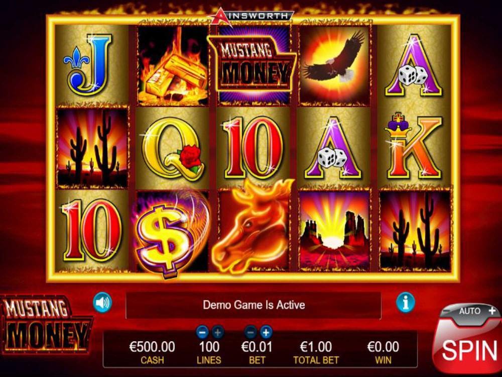 Mustang Money Slot screenshot