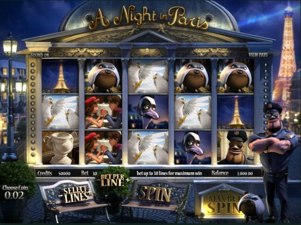 A Night in Paris Slot screenshot