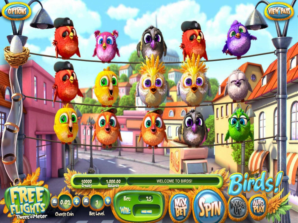 Birds! Slot screenshot
