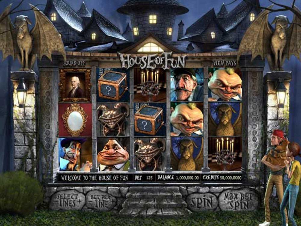 House of Fun Slot screenshot