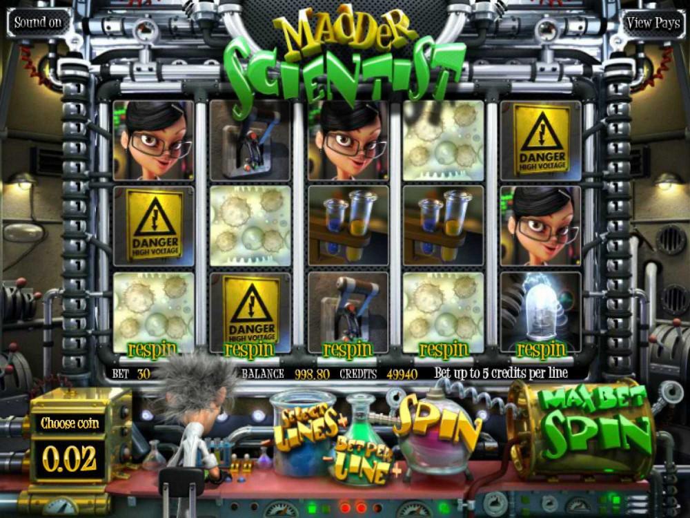 Madder Scientist Slot screenshot