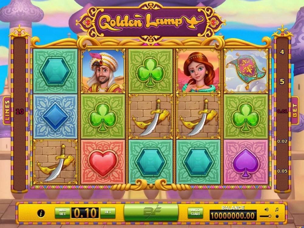 Golden Lamp Slot screenshot