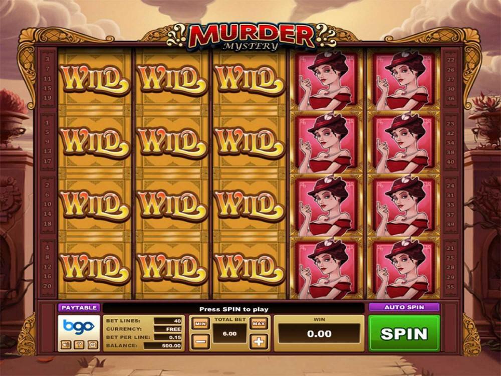 Murder Mystery Slot screenshot