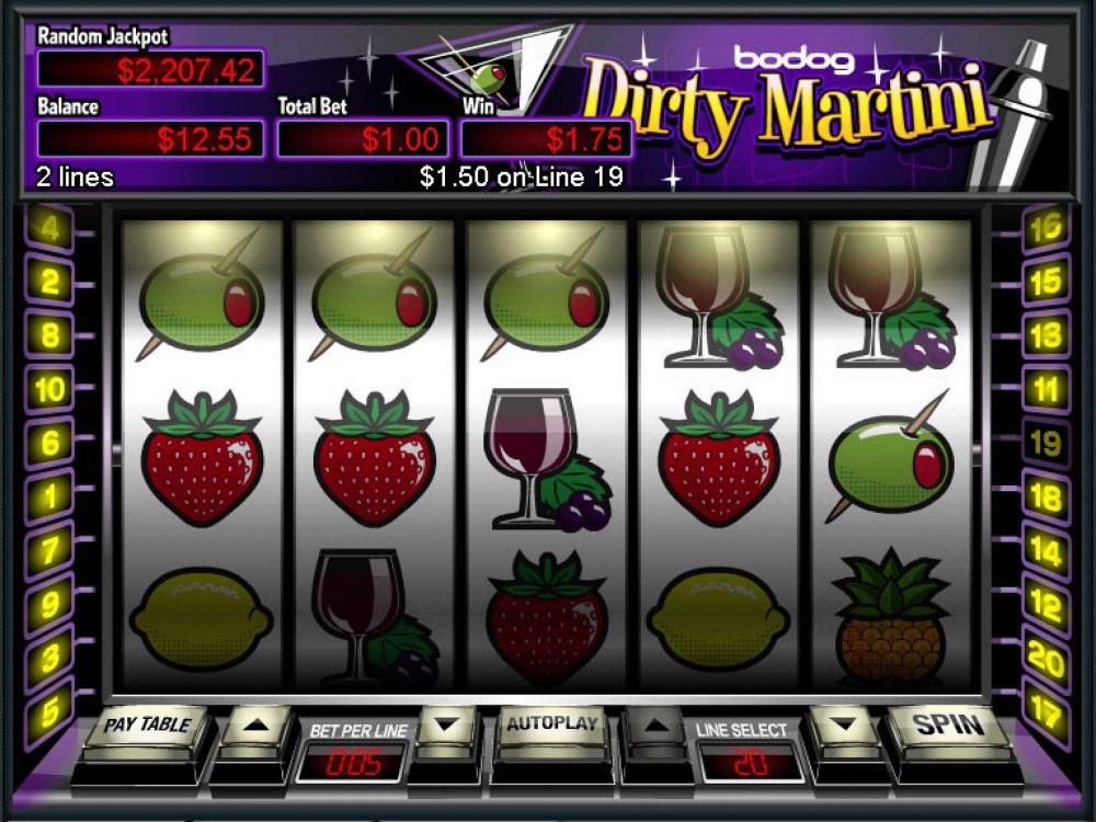 Dirty Martini Slot screenshot