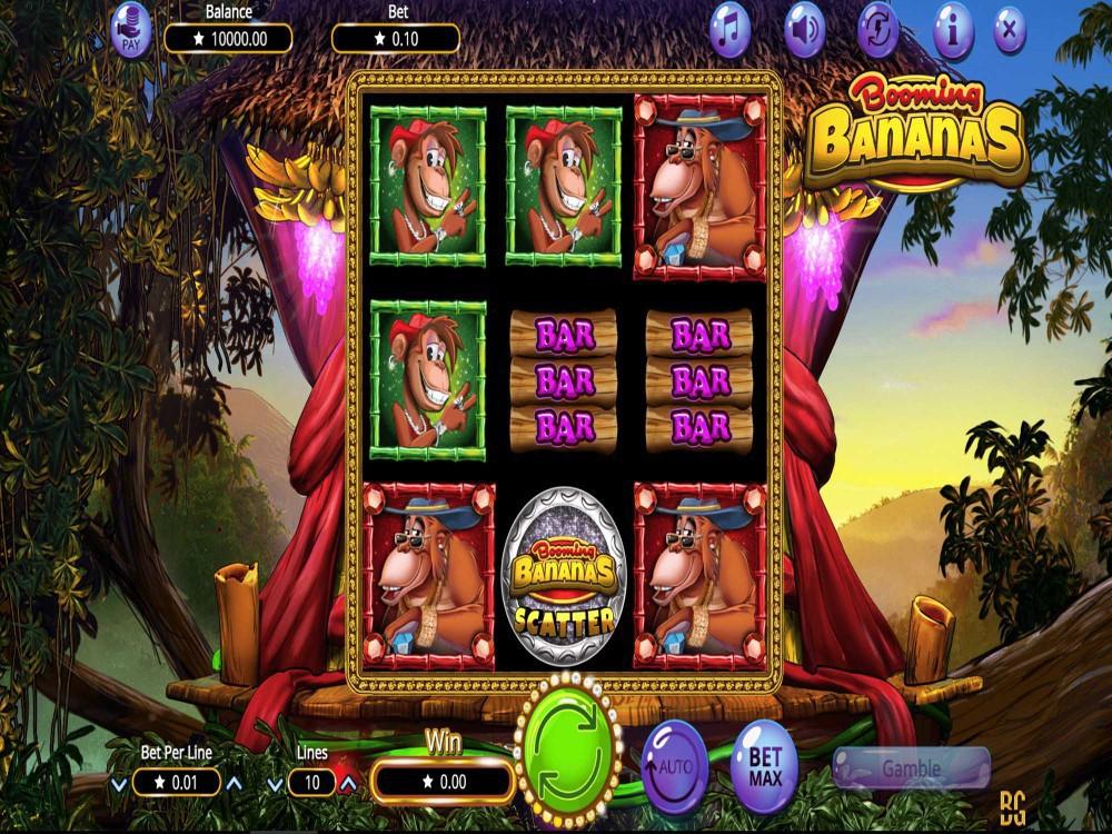 Booming Bananas Slot screenshot