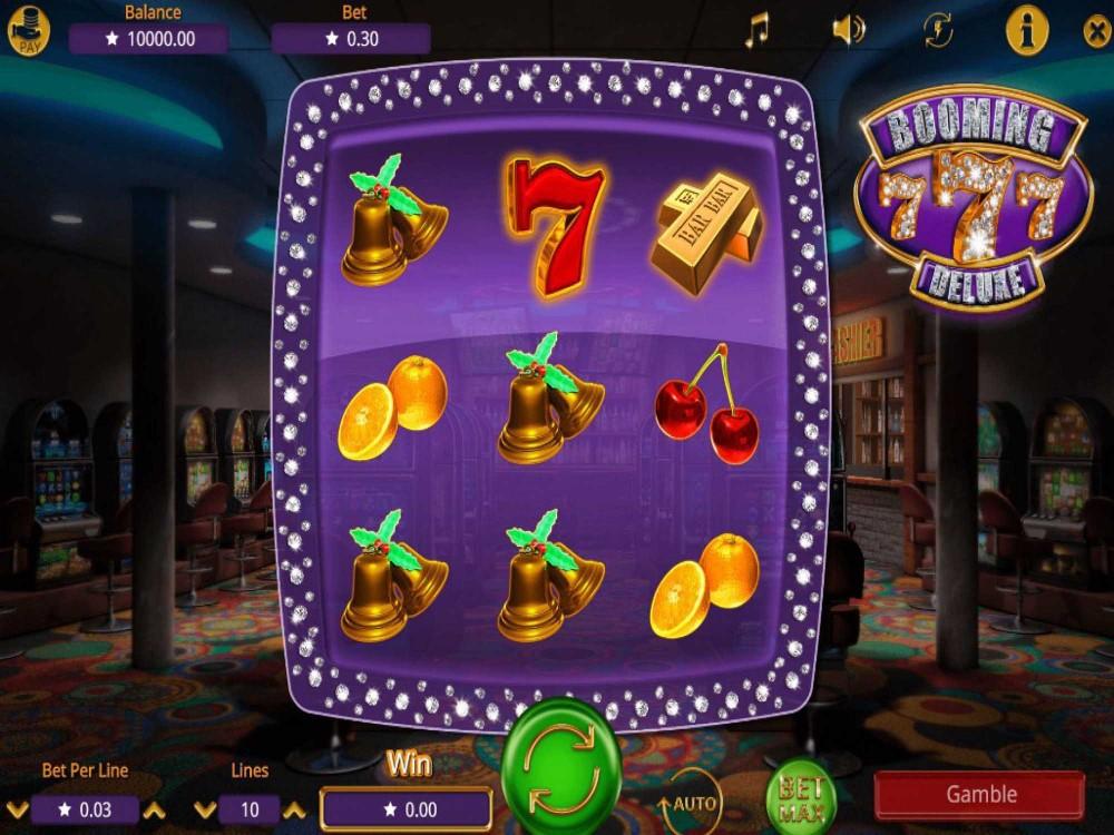Booming Seven Deluxe Slot screenshot