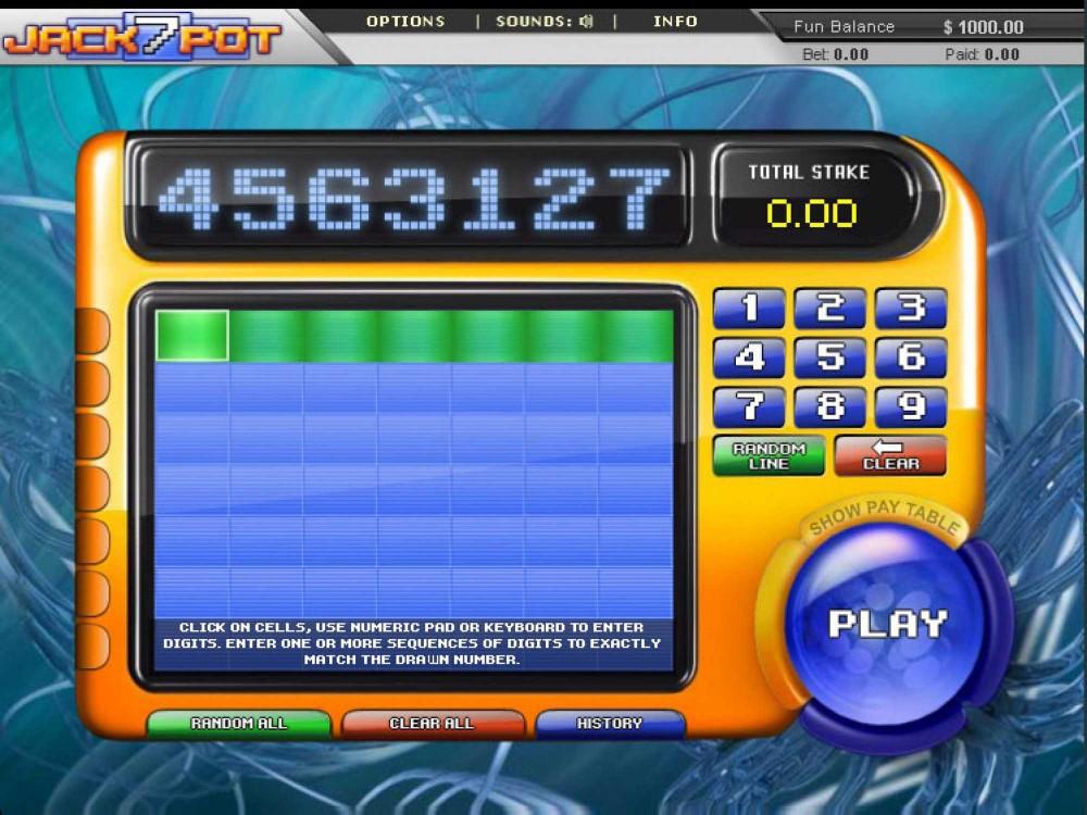 Jackpot7 Slot screenshot