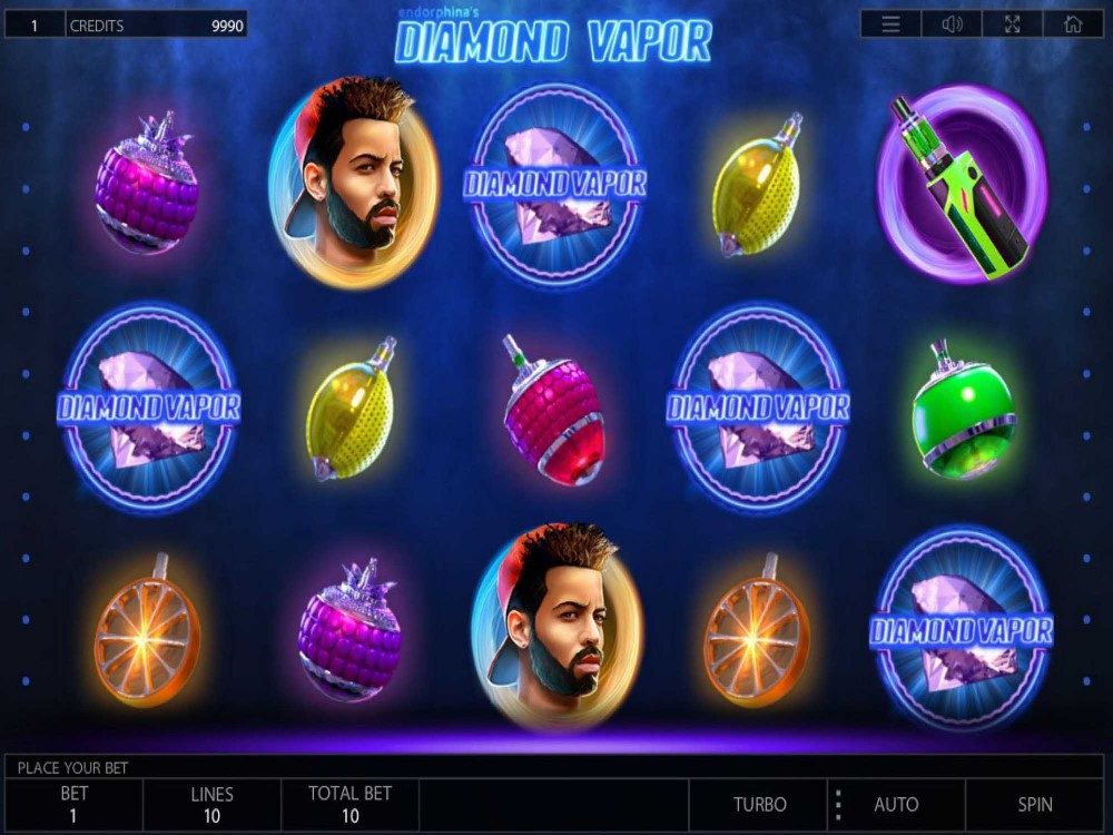 Diamond Vapor Slot screenshot