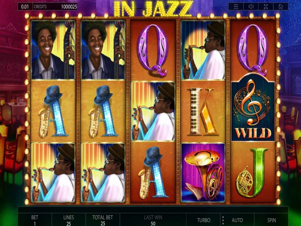 In Jazz Slot screenshot
