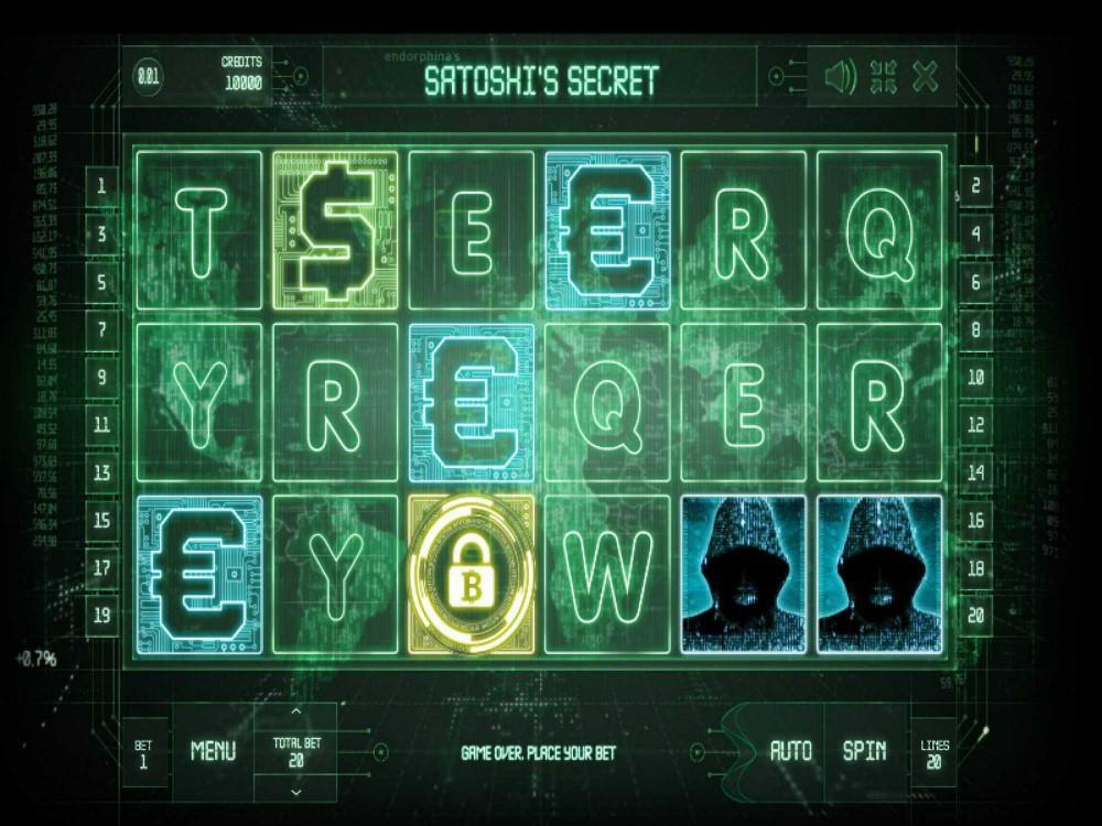 Satoshi's Secret Slot screenshot