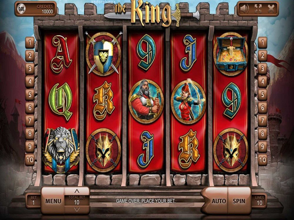 Slot machine the king