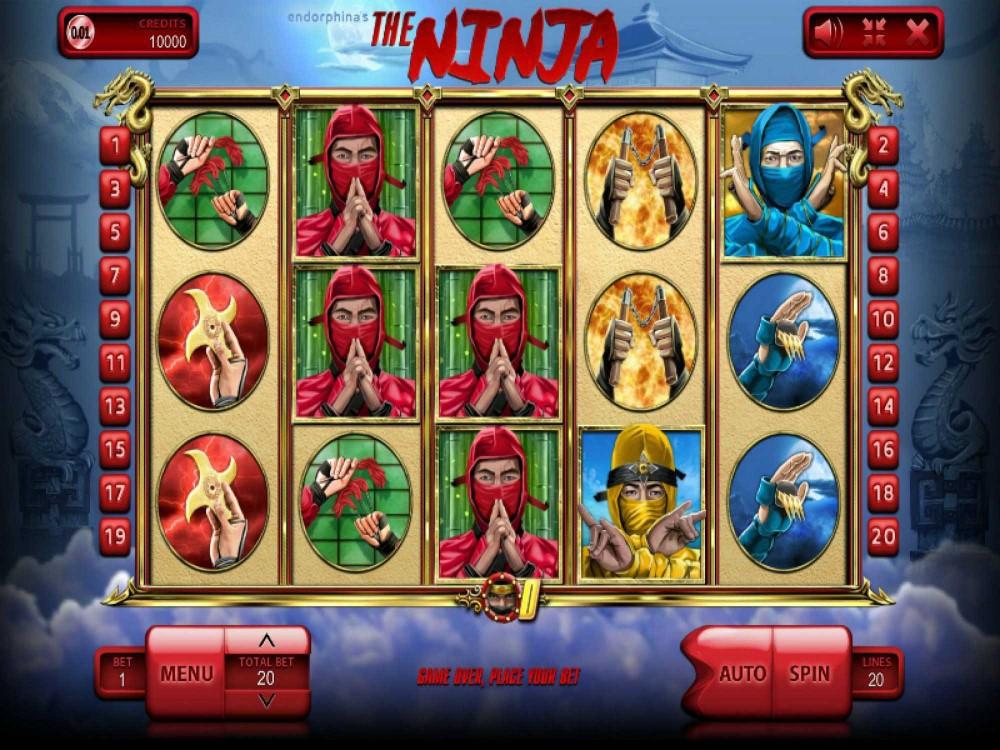 The Ninja Slot screenshot