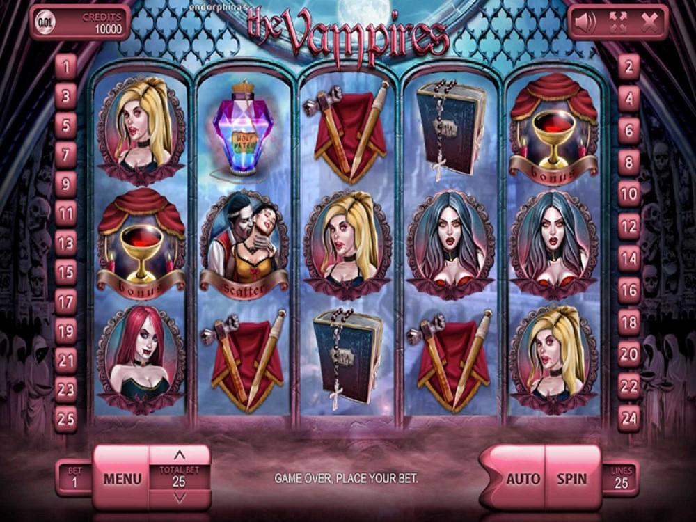 The Vampires Slot screenshot