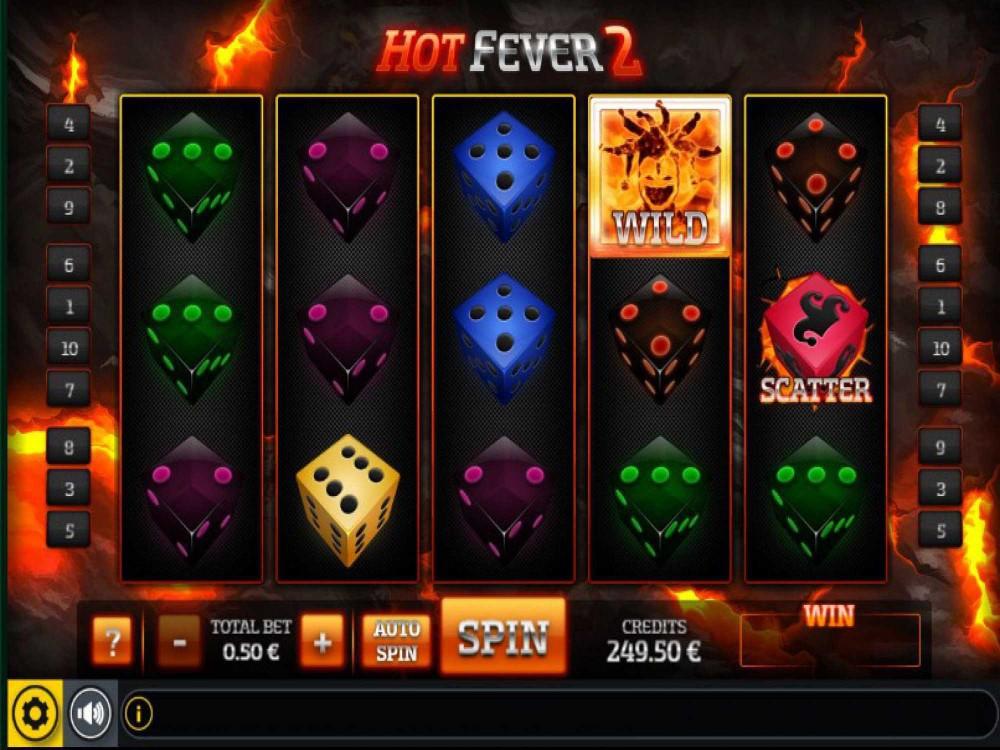 Hot Fever 2 Slot screenshot