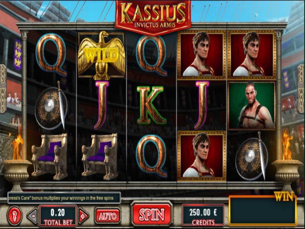 Kassius Invictus Armis Slot screenshot