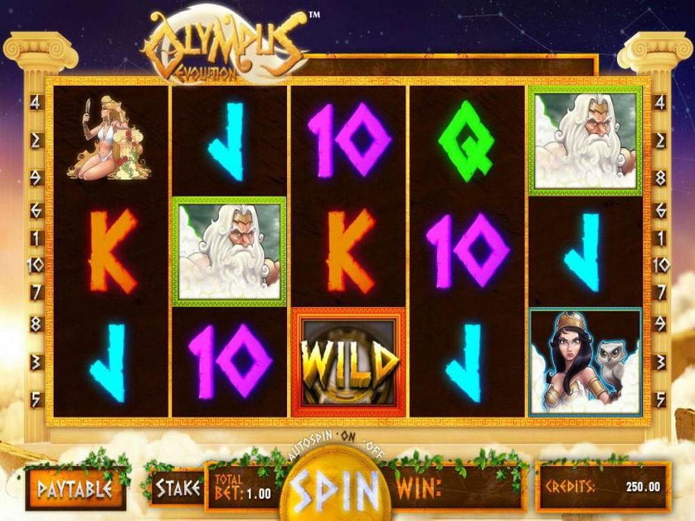Olympus Evolution Slot screenshot