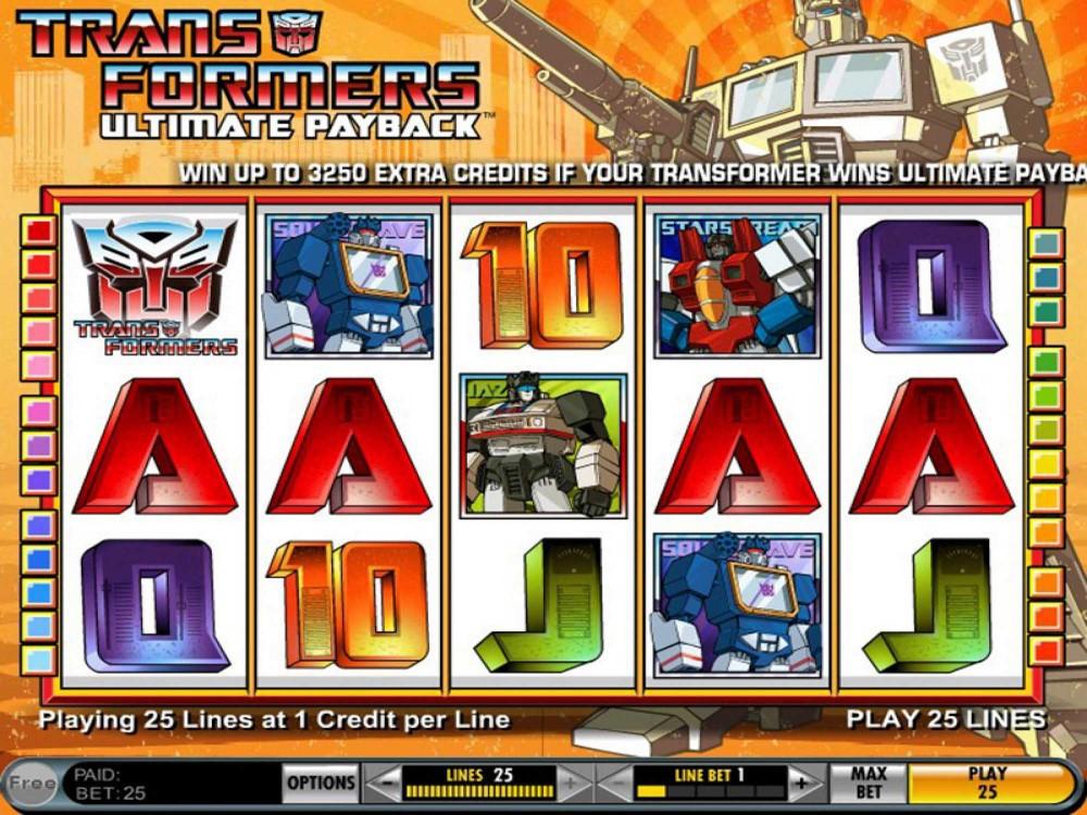 Transformers Slots